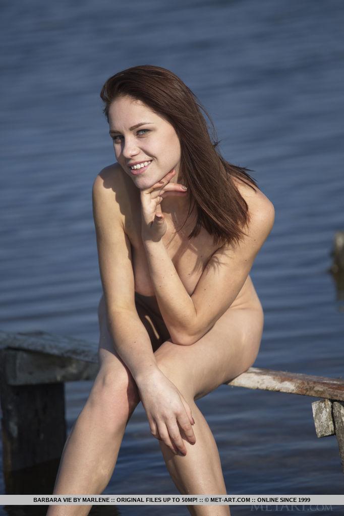 Presenting Sexy Brunette Barbara Vie