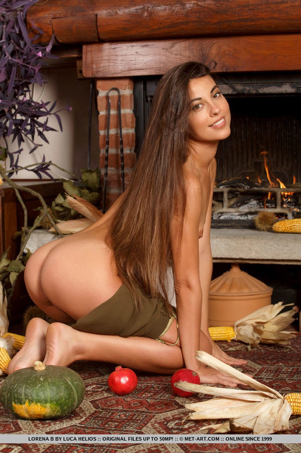 Sexy Brunette Lorena B