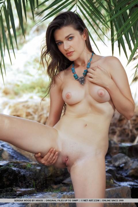 Hot Brunette Serena Wood in Kaldesa Sweet Tight Pussy