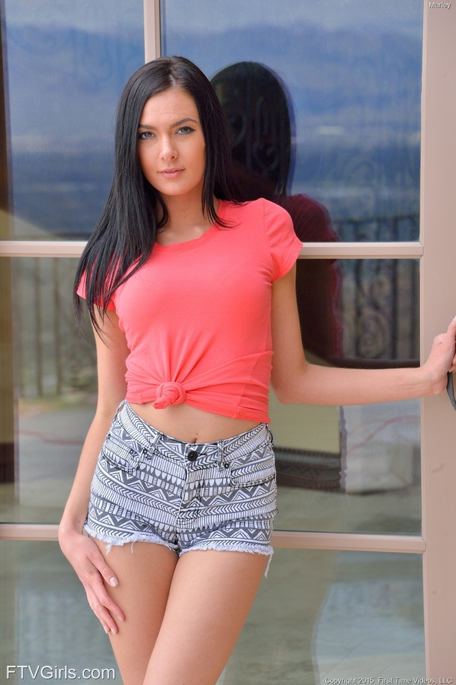 Naughty Brunette Marley For Love Of Anal